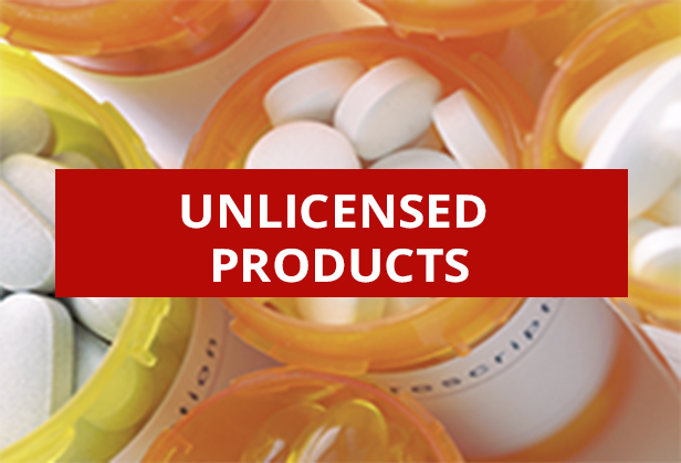 Medical Supplies - Unlicensed Products